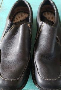 BORN Clogs Leather Black